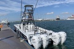 Freeman 42' Tower Fishing Charters